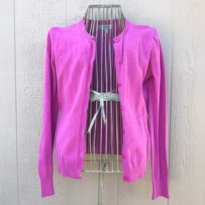 [Cherokee] Pink Buttoned Cardigan Women's Small